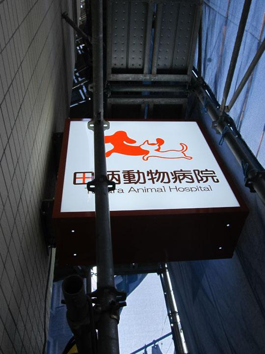 田柄動物病院 様 プレミアムLEDバックライト 移転開業実績6